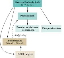 FAE, politiske system i